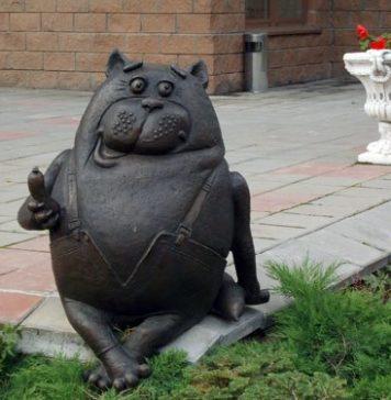 Памятники и скульптурные композиции любимым мультипликационным героям в Москве и в Московской области