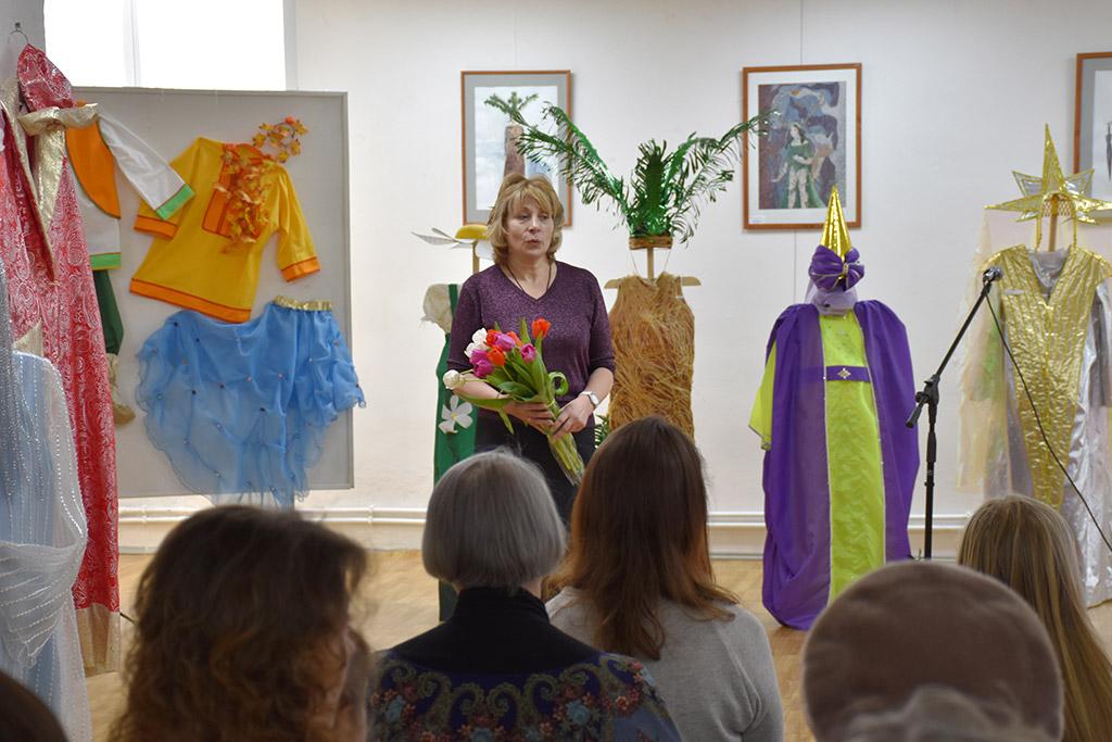 В Ивантеевке открылась выставка, посвященная Году театра