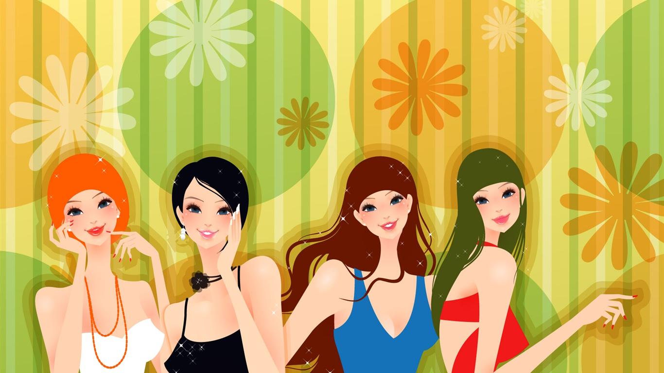 Днем пасхи, картинки для коллектива девочек