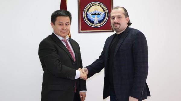 встреча Андрея Кричевского с премьер-министром Кыргызстана Сапаром Исаковым