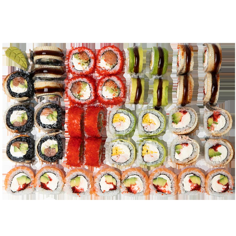 Сет #5 ᐈ заказать с доставкой в Баку по цене 114.00 AZN | Ninja Sushi Баку