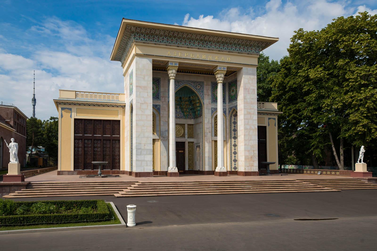 азербайджан - вднх